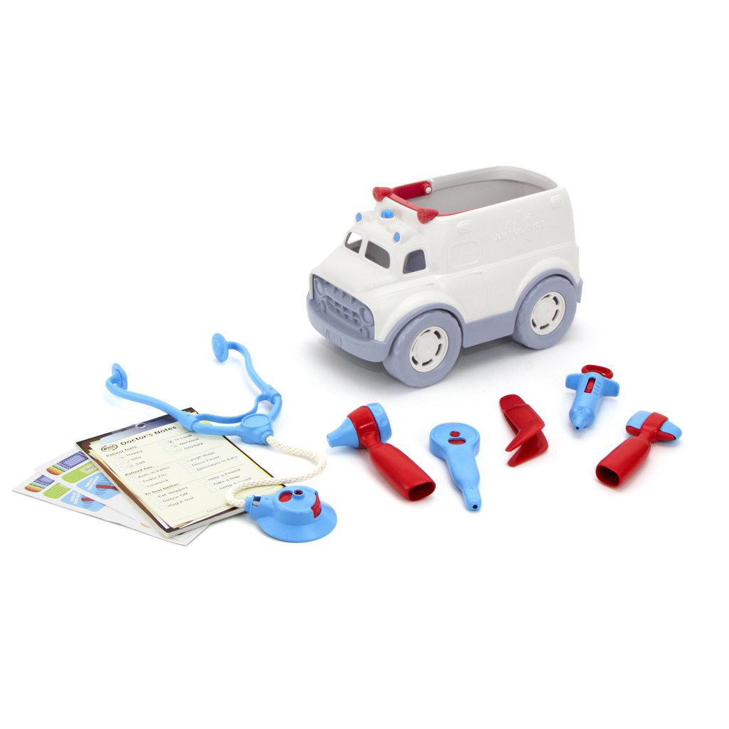 Ambulance and Doctor's Kit by Green Toys 1