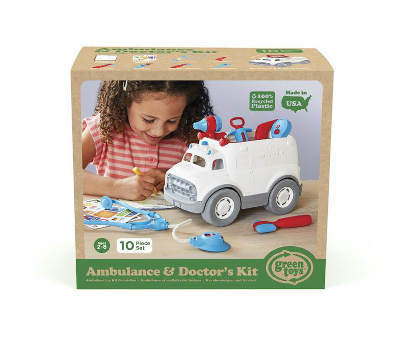 Ambulance and Doctor's Kit by Green Toys 2