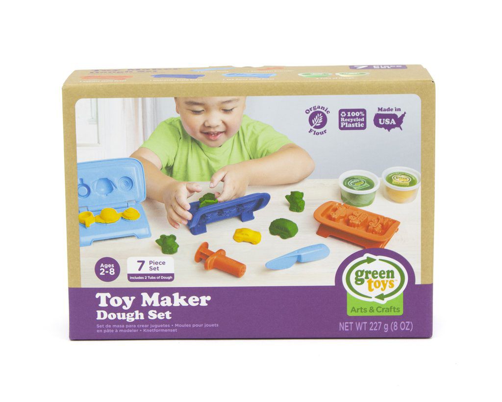 Toy Maker Dough Set by Green Toys 2