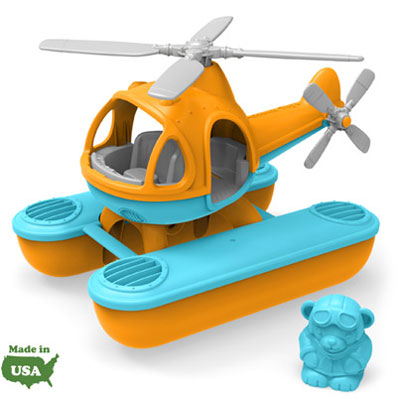 Orange Sea Copter by Green Toys 1