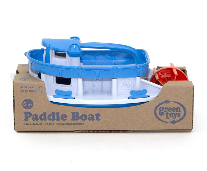 Blue top Paddle Boat by Green Toys 2