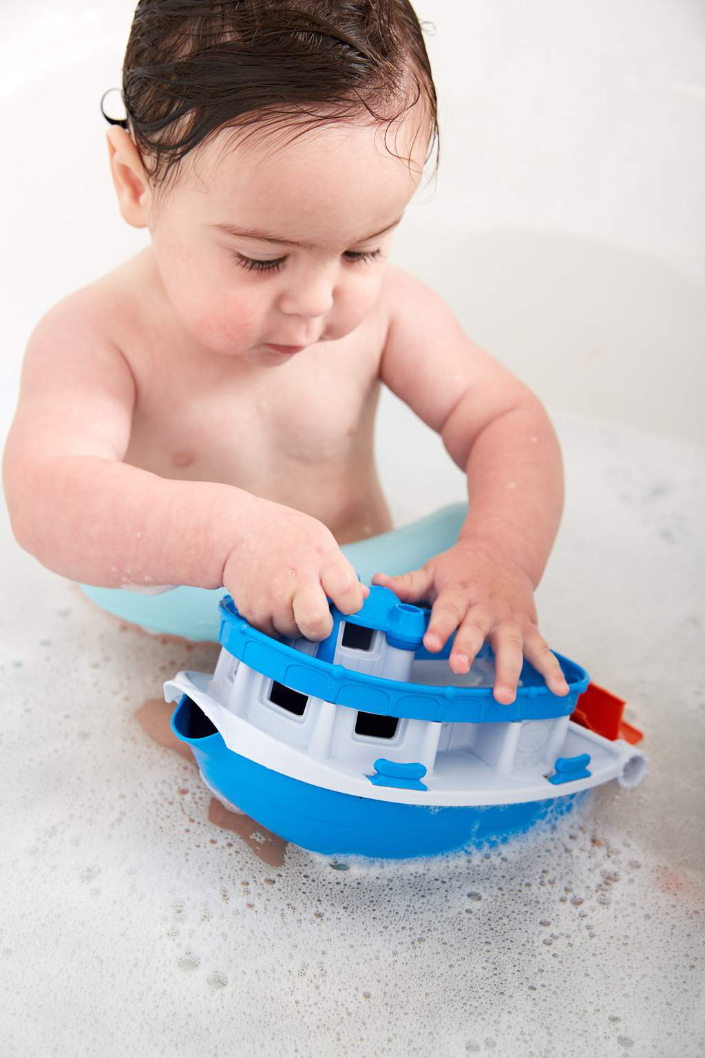 Blue top Paddle Boat by Green Toys 1