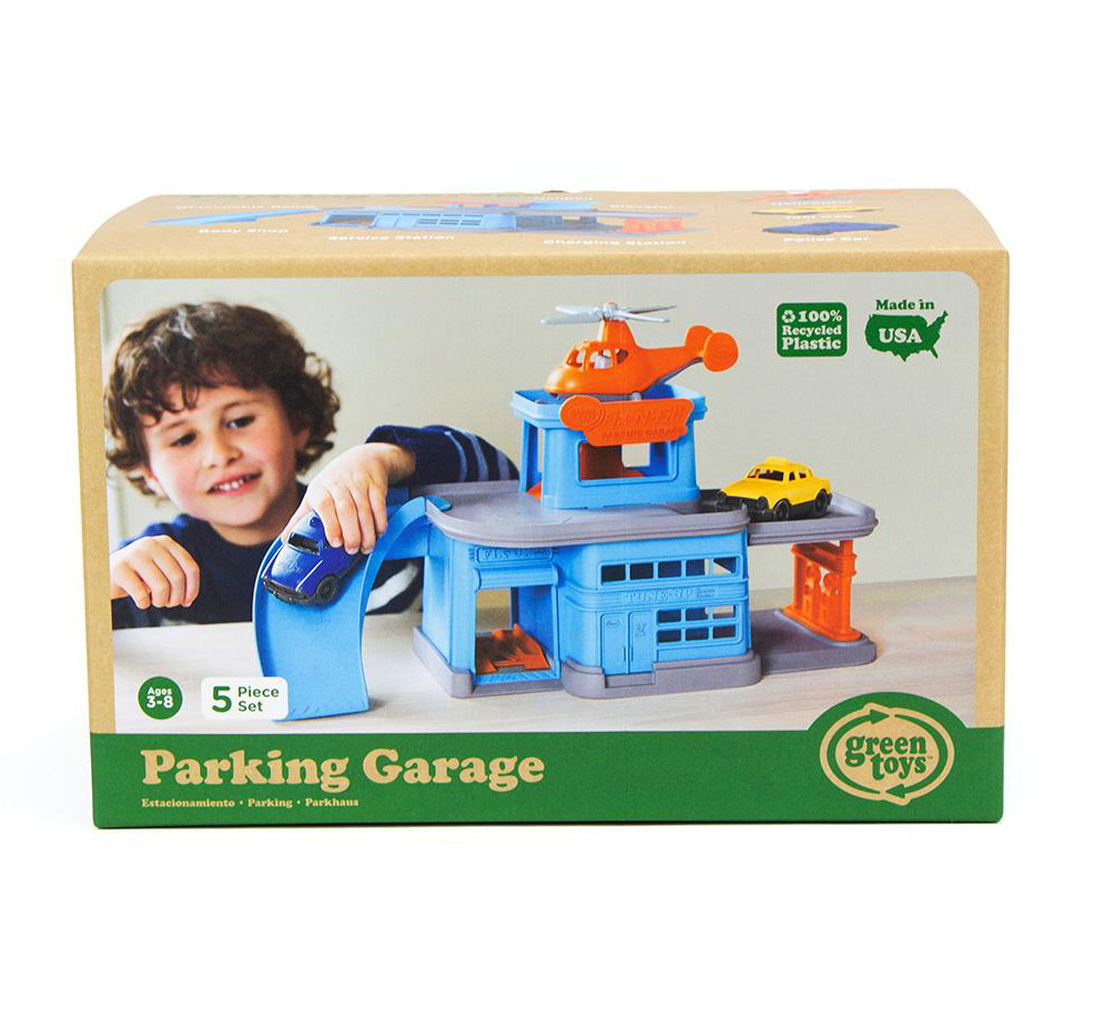 Parking Garage Play Set by Green Toys 2