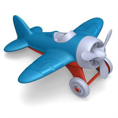Blue Airplane by Green Toys 1