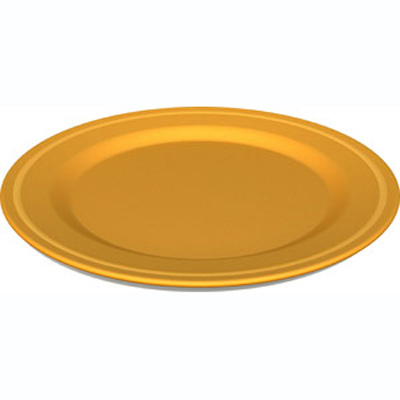 Green Eats Orange Plate (2 Pack) 1