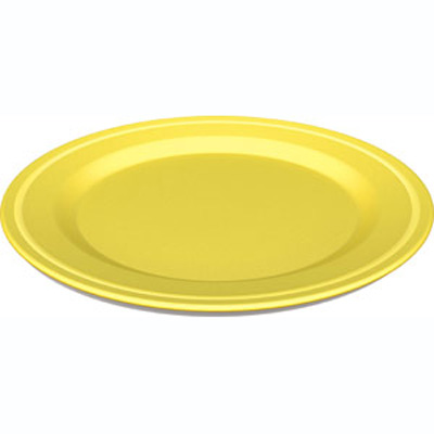 Green Eats Yellow Plate (2 Pack)