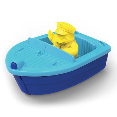 Blue Launch Boat by Green Toys 1