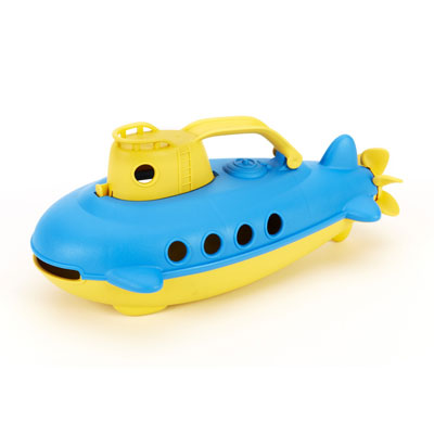 Submarine with Yellow handle by Green Toys 1
