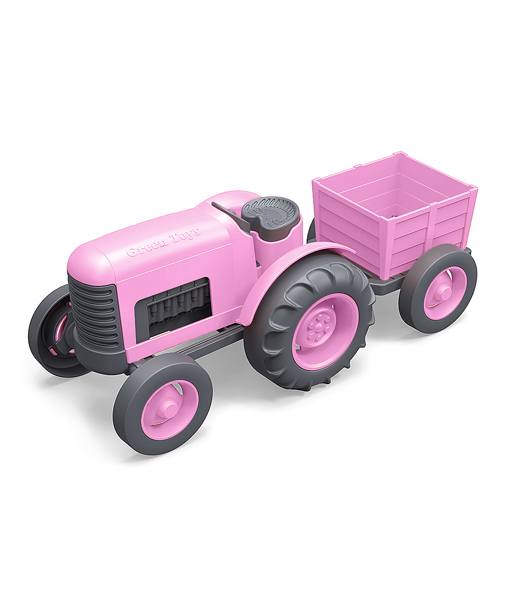 Pink Tractor by Green Toys 1