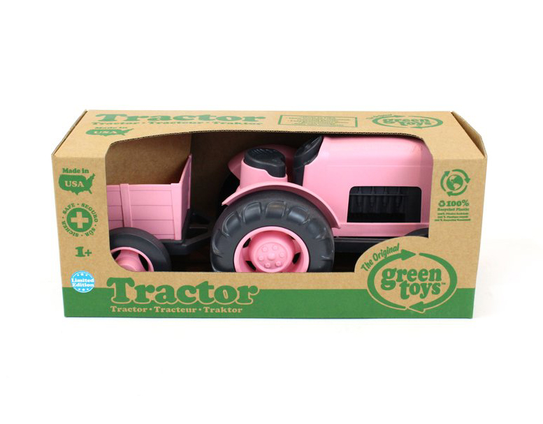 Pink Tractor by Green Toys 2