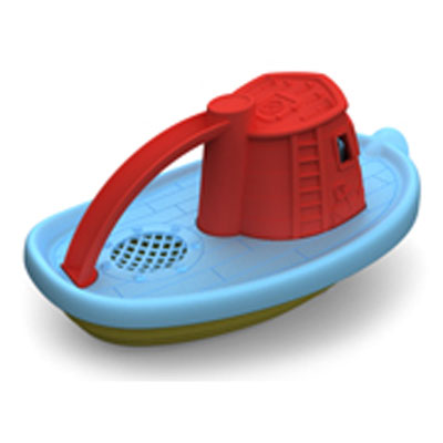 Red Tugboat by Green Toys 2