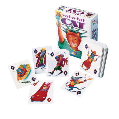 Rat-a-Tat Cat -  Fun Numbers Card Game with Cats (and a few rats) 1
