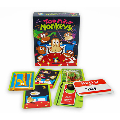 Too Many Monkeys - A Totally Bananas Card Game 1