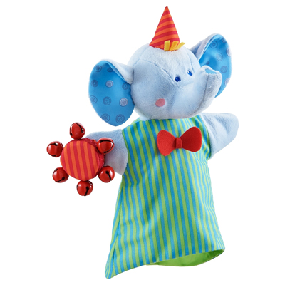 Musical Elephant Glove Puppet 1