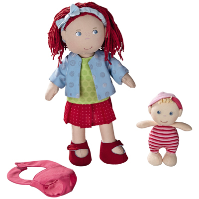 Rubina doll with baby 1