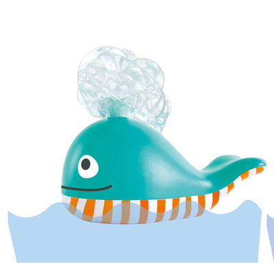 Bubble Blowing Whale Bath Toy 2