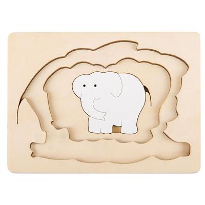 George Luck Elephants puzzle 3