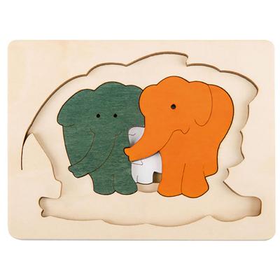 George Luck Elephants puzzle 2