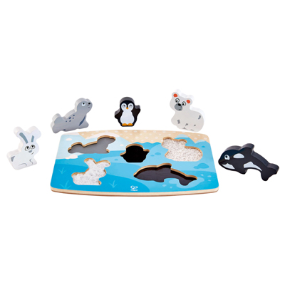 Polar Animal Tactile Puzzle 1