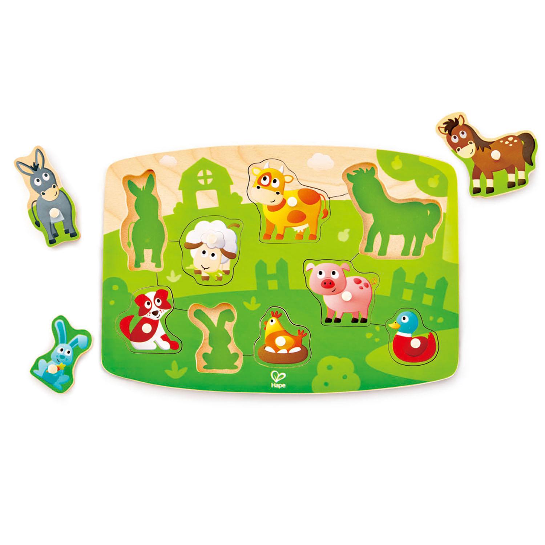 Farmyard Peg Puzzle 1