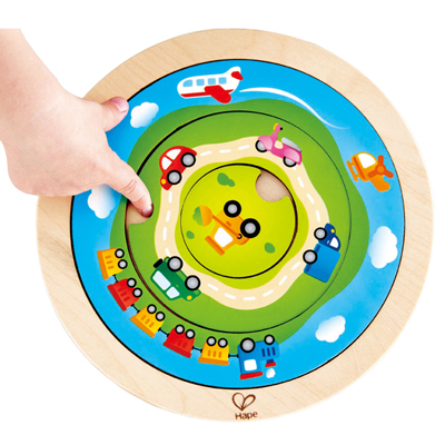 Spinning Transport Puzzle 2