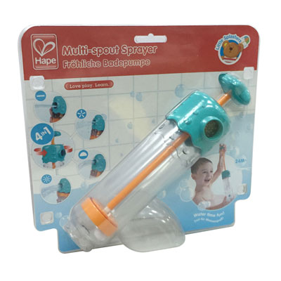 Multi-spout sprayer bath toy 1