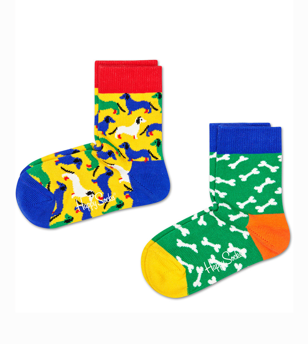 Kids Dog Socks - 2 pack 1
