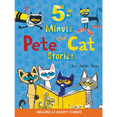 5 minute Pete the Cat Stories 1