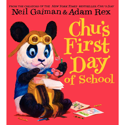 Chu's First Day of School (board book) 1