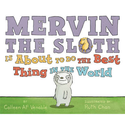 Mervin The Sloth is about to do the best thing in the world 1