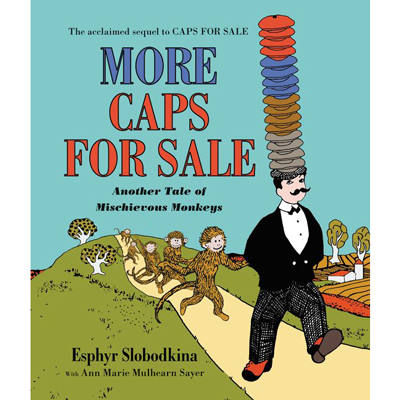 More Caps For Sale board book 1