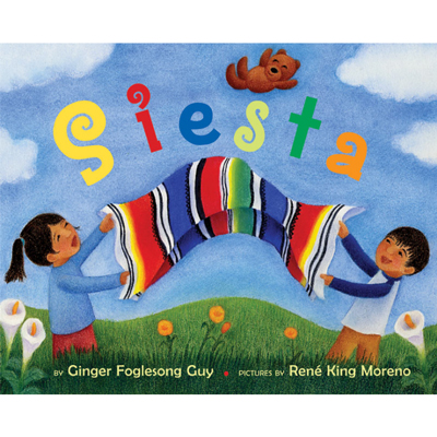 Siesta board book (spanish/english) 1