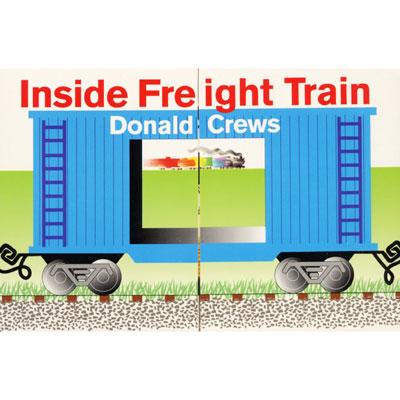 Inside Freight Train board book 1