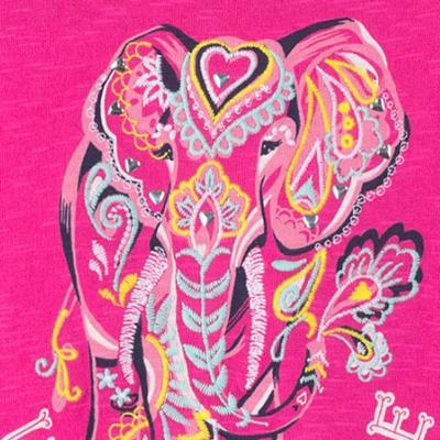 Unforgettable Elephant tie-back tee 2