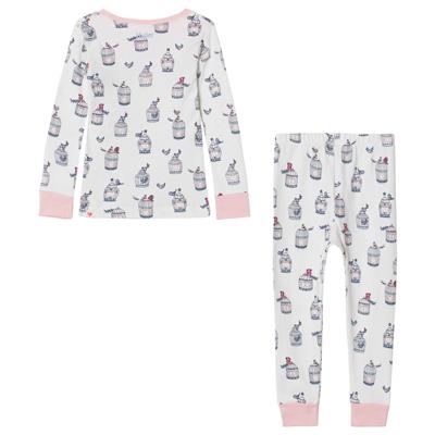 Free birds long sleeve pajama set 1