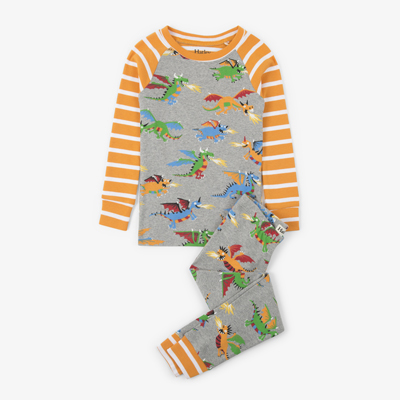 Dragon organic pajamas 1