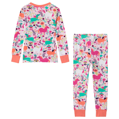 Roaming horses pajama set 1