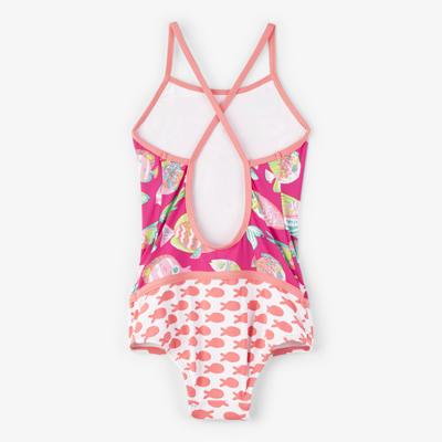 Fancy Fish Colourblock Swimsuit 2