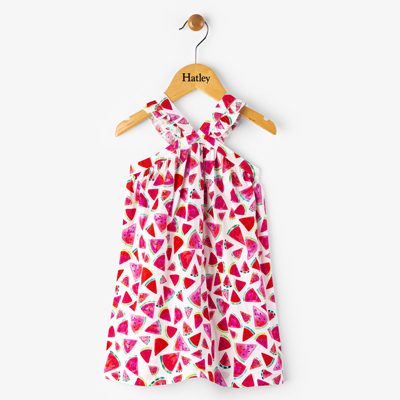 Juicy watermelon crosscross dress - 2T 1