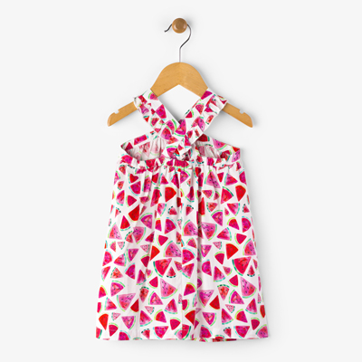 Juicy watermelon crosscross dress - 2T 2