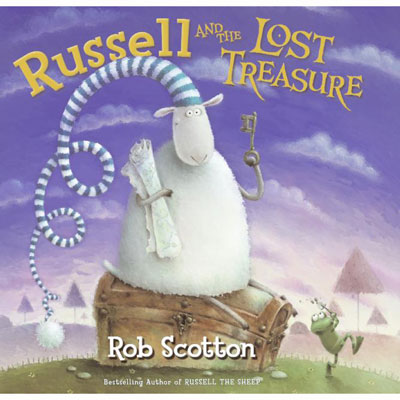 Russell and the Lost Treasure by Rob Scotton (Hardcover) 1