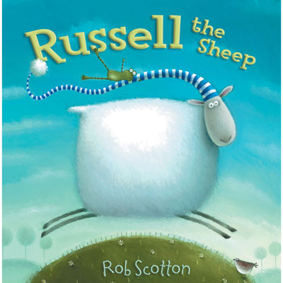 Russell the Sheep by Rob Scotton (board book) 1