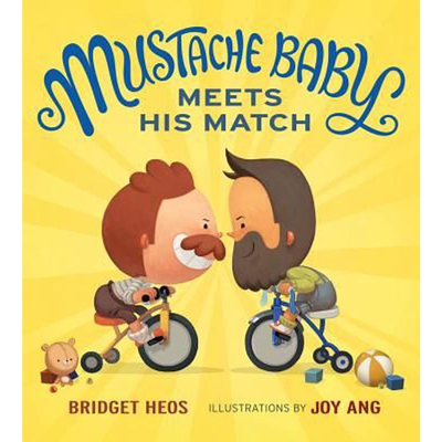 Mustache Baby Meets His Match 1
