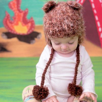Baby bear hat 1