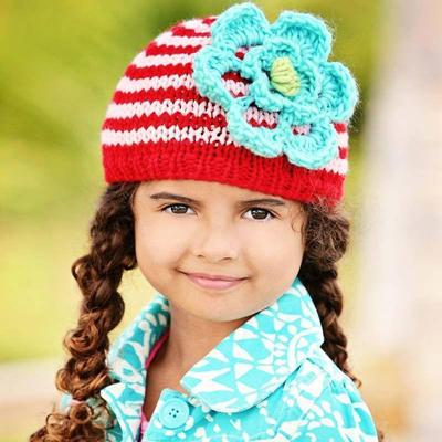 Festive Ziggy Hat 2-6 years 2