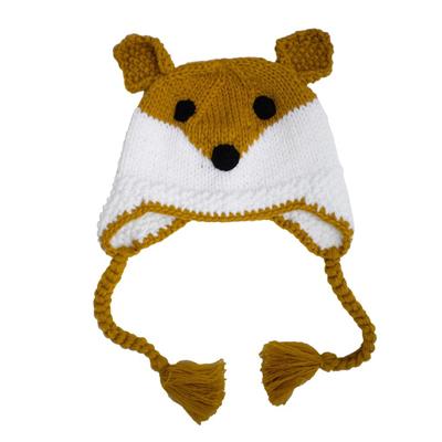 Clever Fox beanie hat 2