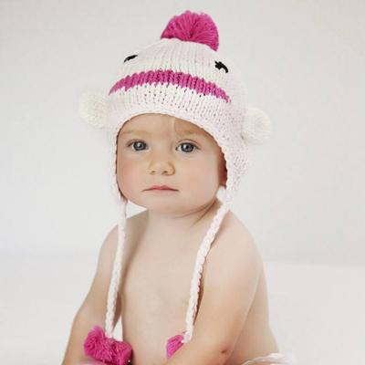 Pink sock monkey hat 1