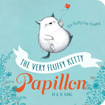 The Very Fluffy Kitty, Papillon (Board Book) 1