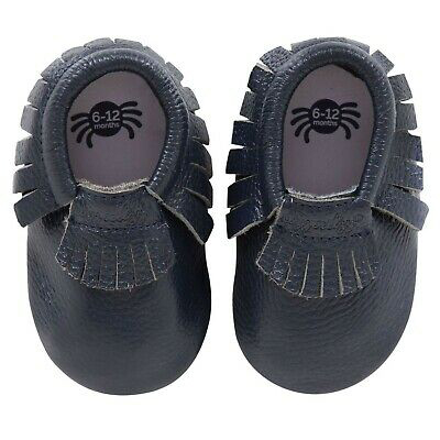 Blueberry baby moccasins 1