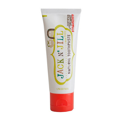 Jack N' Jill Natural Calendula Toothpaste - Strawberry .50g 1